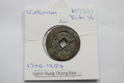Faithful Vietnam Ancient Cash Coin Type With 3.16 Gr Coins: World A99 #sz9315 Soft And Antislippery