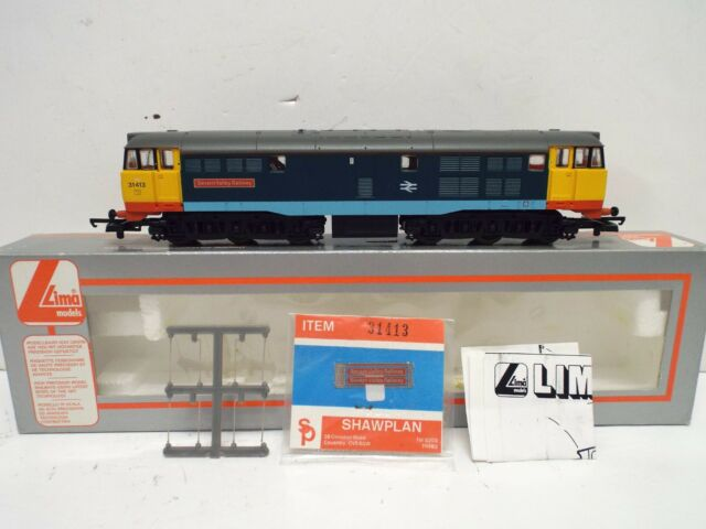 LIMA 205032A3 CLASS 31413 SEVERN VALLEY RAILWAY BR DIESEL LOCO BOXED (OO805)