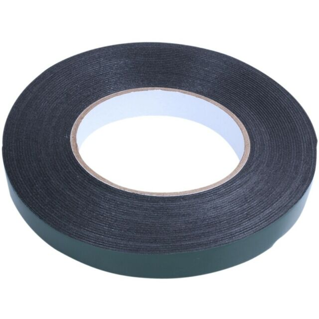 Double Sided Car Trim Moulding & Badge Tape- Strong Foam Adhesive- 15mm x 1 Y2R9