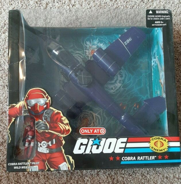 G.I. Joe 25th Cobra Rattler w/Wild Weasel - Target Exclusive - New in Box
