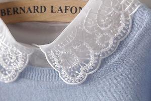 Detachable-Women-Cotton-Lapel-Shirt-Fake-False-Collar-Choker-Necklace-EAF104