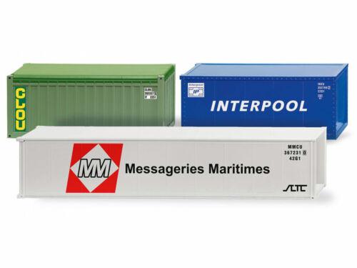 Wiking 001824 H0 LKW Zubehörpackung Container II