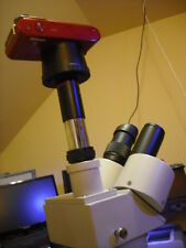 Nikon 1 J1 J2 J3 Aw V1 2 Mirror Less Microscope Camera Adapter Kit With 05x Lens