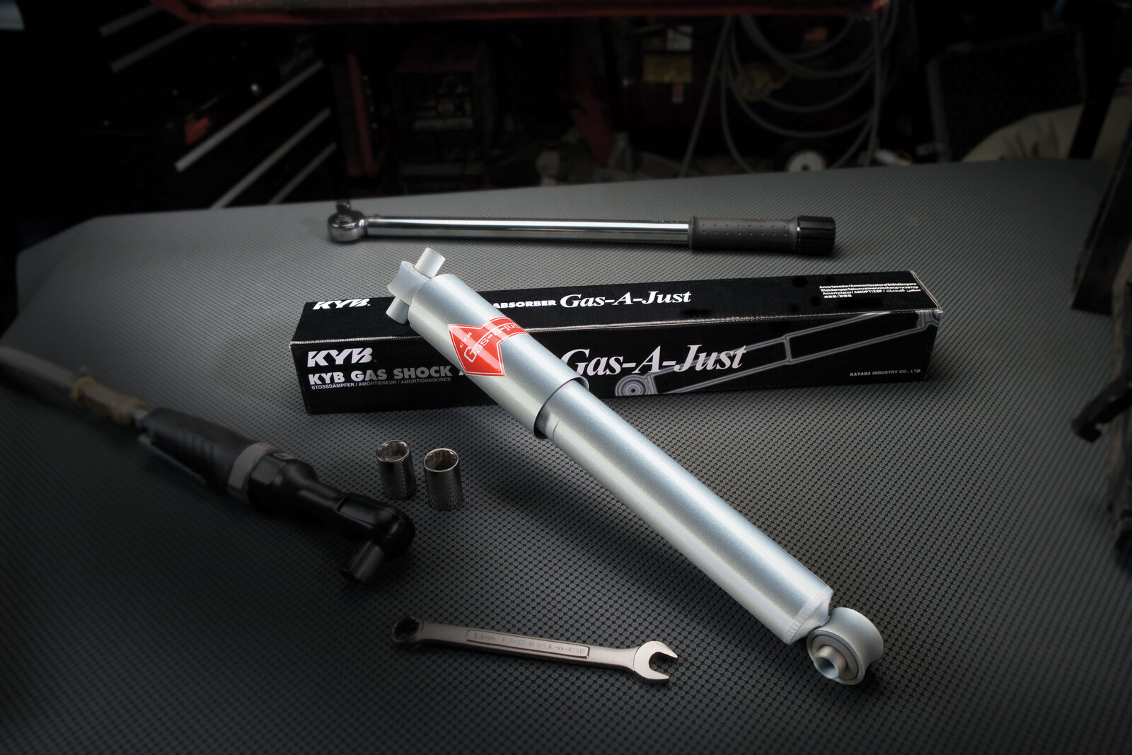 KYB KG5615 Gas-a-Just Gas Shock