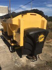 Fisher Poly Caster Hopper Spreader Truck Bed 18 Cu Yd Salt Sand Saltsand Mix