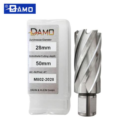 DӒMO HSS Annular Cutter 50mm Cut Depth Rotabroach Slugger Magnetic Germany