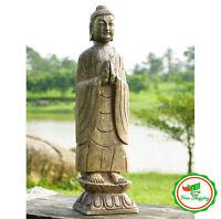Large Buddha Statue Decorative Zen Home Sculpture Art Outdoor Garden Decor Gift