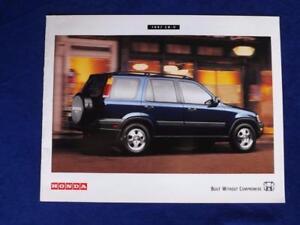 1997-HONDA-CR-V-CRV-SALES-DEALER-BROCHURE-CAR-VINTAGE-SPECS-DIMENSIONS-COLORS