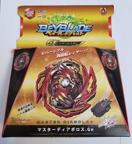 Beyblade Burst GT Gachi B-155 Master Diablos Gn LR String Flamme Marque UK