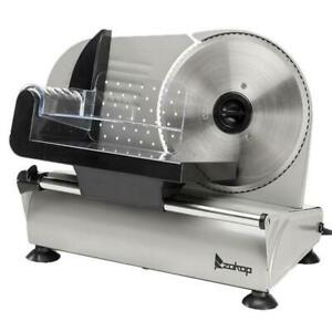 ZOKOP-SL526-110V-150W-7-5-inch-Semi-automatic-Cutter-Electric-Meat-Slicer