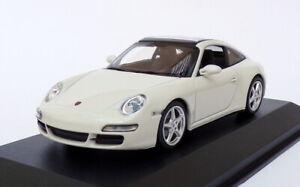 Maxichamps-1-43-escala-940-066160-a-2006-Porsche-911-Targa-Blanco
