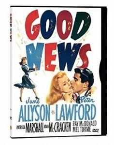 Good-News-June-Allyson-Peter-Lawford-DVD-New-Blister-Pack