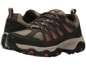 Details about NEW Mens Skechers Work Relaxed Fit Brown Soft Leather Grinnell CT Boot Shoes NIB