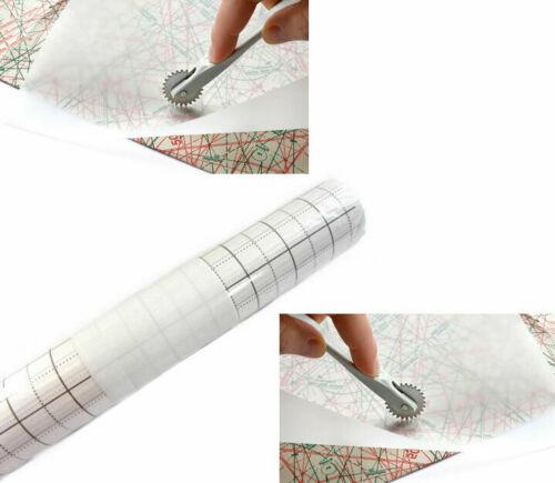 Schnittmusterpapier gerastert 0,80m x 15m Rolle