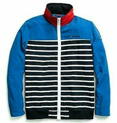Tommy Hilfiger Mens Adaptive Regatta Jacket Magnetic Zipper Coat