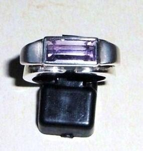 massiv-Amethyst-925-Sterling-Silber-Ring-Gr-50-51-54-Neu