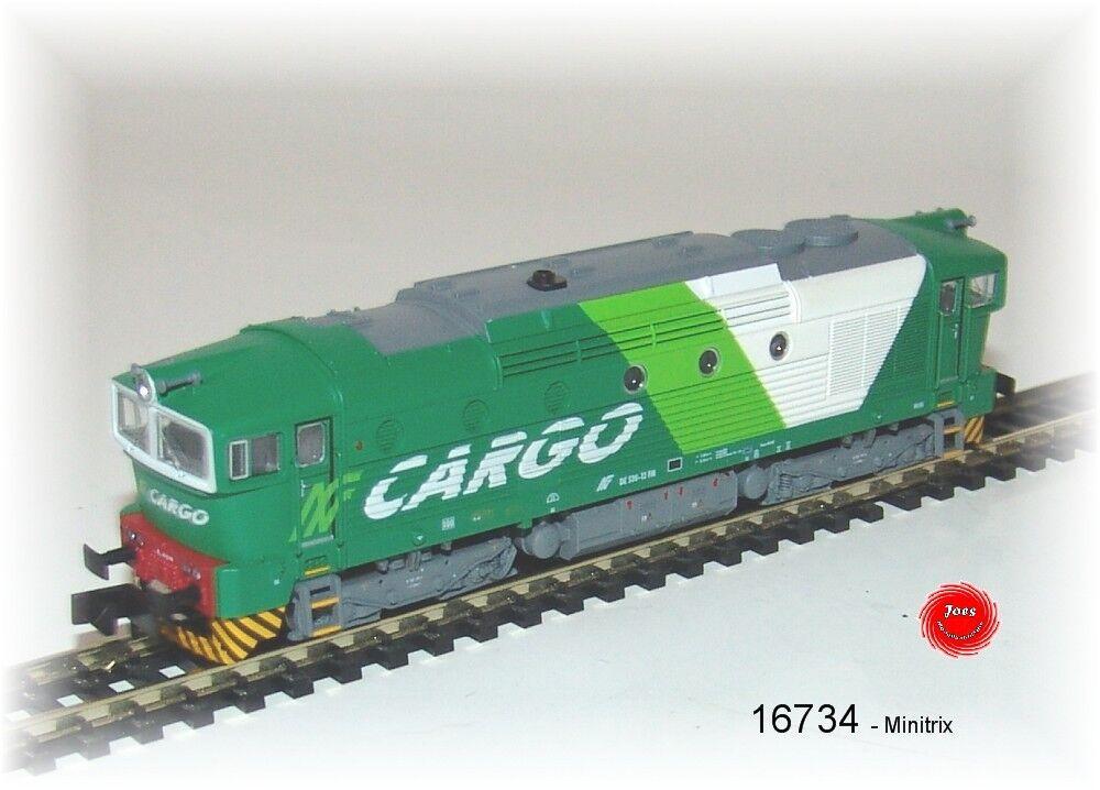 Trix 16734 Locomotora diésel de 520 der FNM con decodificador digital+
