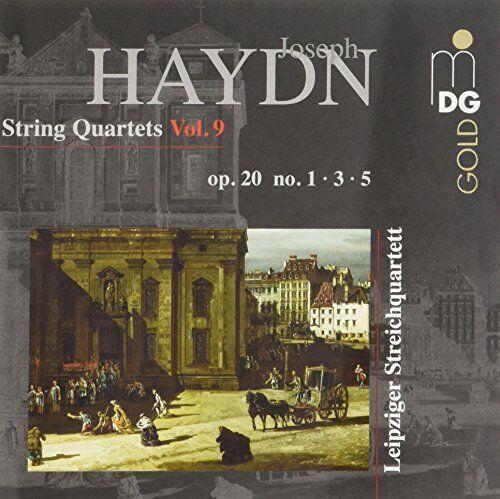 Leipzig String Quartet - Haydn: String Quartets Op. 20 No. 1, 3 and 5 [CD]