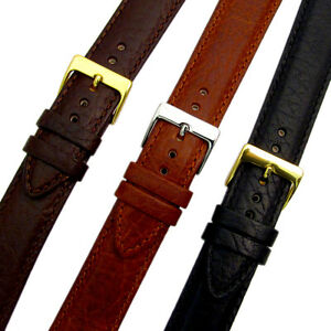 Verona-XL-Extra-Long-Padded-Leather-Watch-Strap-Band-3-colours-16mm-24mm-D012