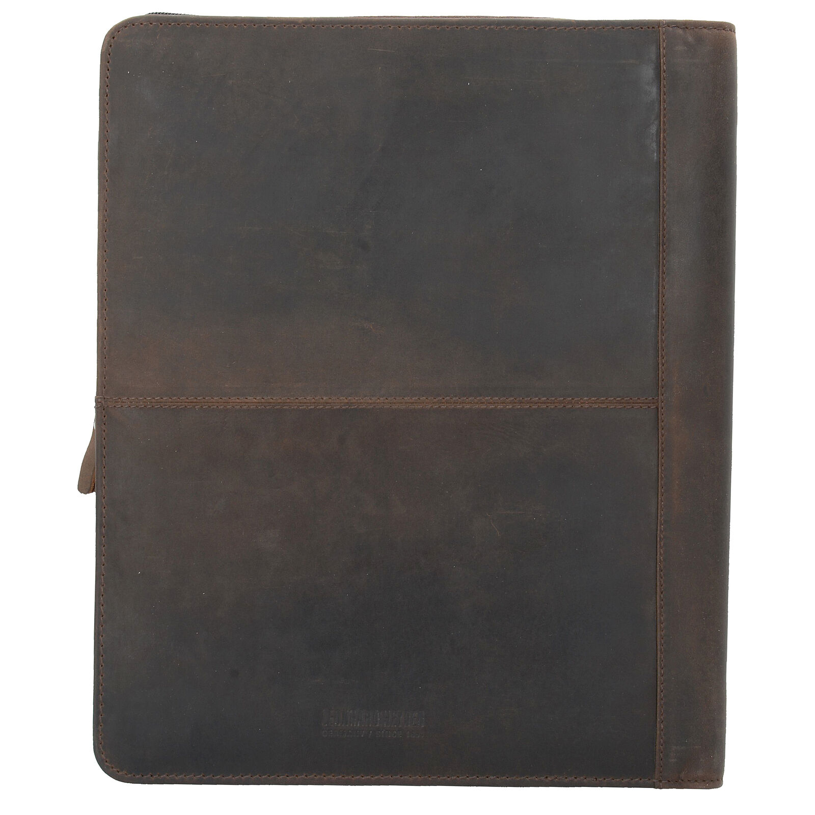 Leonhard Heyden Salisbury Schreibmappe Aktenmappe Leder 34 cm (braun) | Elegante und robuste Verpackung  | Lebhaft und liebenswert  | Am wirtschaftlichsten