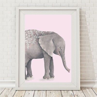 NEW Boho Tribal Elephant Print (Pink & Mauve) Girl's by BespokeMoments