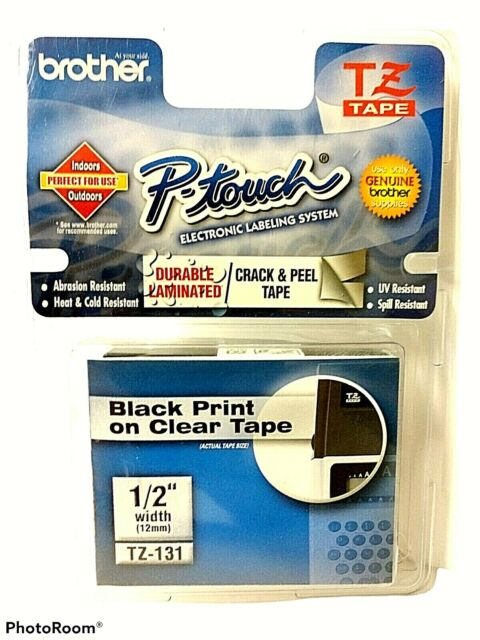 Genuine Brother P-touch TZ-131 1/2