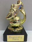 Football Trophy - GOLD with Marble + FREE Engraving + FREE P&P
