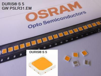 50 pieces OSRAM DURIS® S5 LED 5700K COOL WHITE CRI 82 ~1.0W 3030 GW PSLPS1.EC