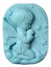 Angel Cherub Boy Praying Silicone Mold for Fondant GP Chocolate Soap Crafts