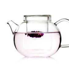 UNIHOM - GRACE 600ml Glass Infuser Teapot Set with Strainer (LooseTea)