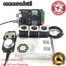 Usb Cnc 3 Axis Nema23 Stepper Motor 57mdk2 Motor Controller Board Mpg Kit Om9
