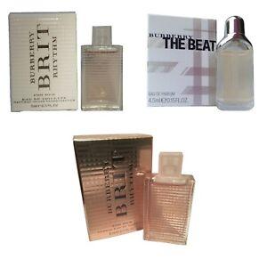 Detalles de Miniatura Mini Perfume para mujeres Burberry regalo de viaje combinación de 3 ver título original