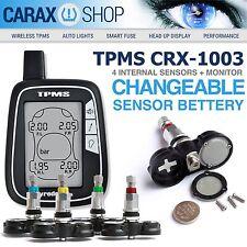 CAR AUTO UNIVERSAL TPMS Tire pressure monitoring system 4 internal sensors RDKS