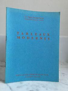 Catalogue Di Vendita Tajan Ader Picard Lavagna Moderno Sala N° 10 21février1975