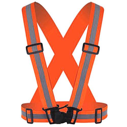 Hi Vis Visibility High Men Vest Belt Hoodie Sweatshirt Safety Workwear Shirt Top