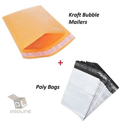 Yens® 500 #00 Poly Bubble Padded Envelopes Mailers 5 X 10 500PM00