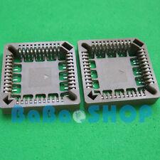 MCKENZIE 28 PIN SMD PLCC SOCKETS PLCC-28P-T-SMT-TR FCI ROHS **NEW** Qty.10