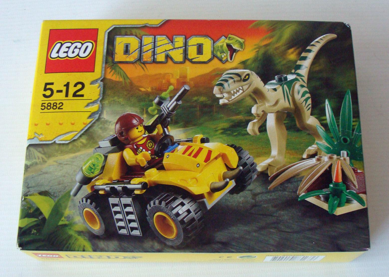 Lego® Dino 5882 - Versteck des Coelophysis 80 80 80 Teile 5-12 Jahren - Neu 85ba60