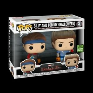 Funko Pop! Marvel Wandavision Billy And Tommy Halloween