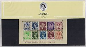GB-Presentation-Pack-61-Wilding-Definitives-M-S-2003-10-OFF-5