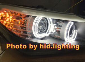 BMW-Z4-E89-C-Shape-Crystal-Angel-Eye-Halo-Ring-light-Style-Headlight-White-LED