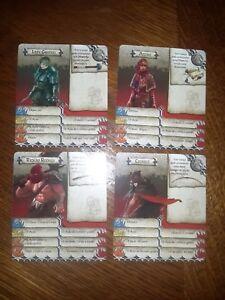 Zombicide-Black-Plague-4-x-4-cartes-Personnages-PT-DE-IT-ES