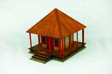 Japan TEMPLE SHRINE SAMURAI/ JAPANESE 28mm Laser cut MDF scale Building B001