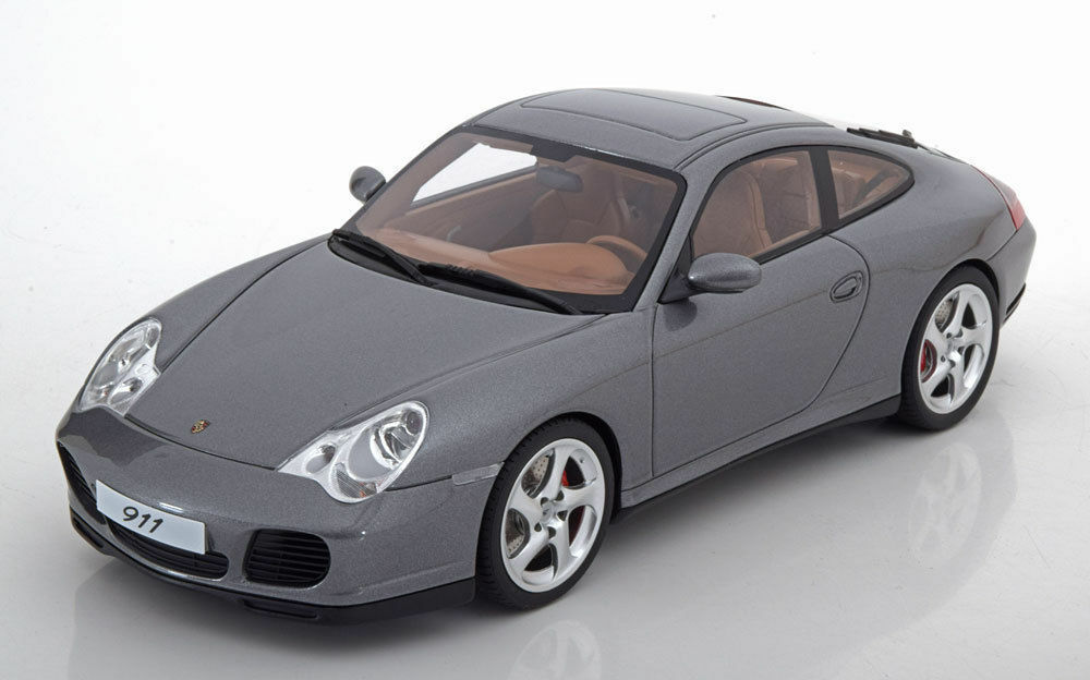 GT Spirit  PORSCHE 911 911 911 (996) Carrera 4 S  2001  1 18  grismetallic 8eb0a0