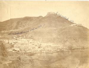 Algerie-Oran-Vue-generale-Vintage-albumen-print-Tirage-albumine-21x27