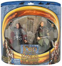 Der Herr der Ringe LOTR Legolas & Aragorn 15 cm Figur MINMB Toybiz