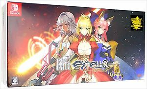 FATE-EXTELLA-Limited-Edition-Disc-Nintendo-Switch-2017-Multi-Languages
