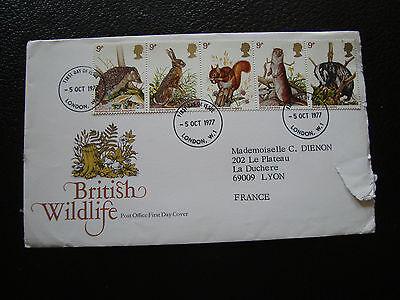 Vereinigtes Königreich Umschlag 1 Vereinigte Königreich Tag 5/10/1977 cy74