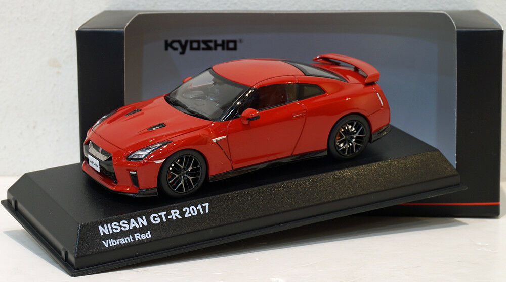 Kyosho 1 43 Nissan GT-R R35 2017 Vibrant Red 03893R