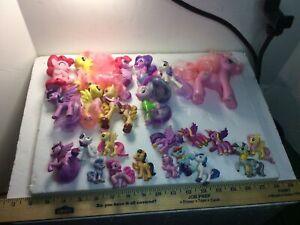 Huge 24 MY Little Pony Lot Preowned W/ Playwear( Please Refer To Description)